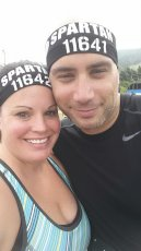 Adoptive Family Photo: Tackling the Spartan Mud Run