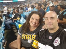 Adoptive Family Photo: Go Steelers!