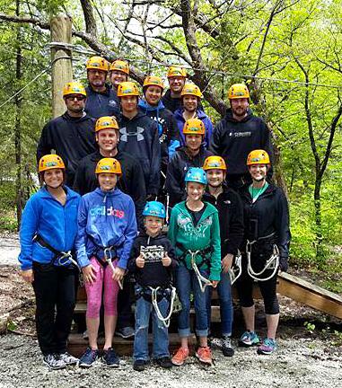 Family Ziplining