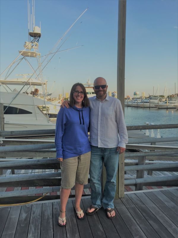 Enjoying the Marina in Atlantic City
