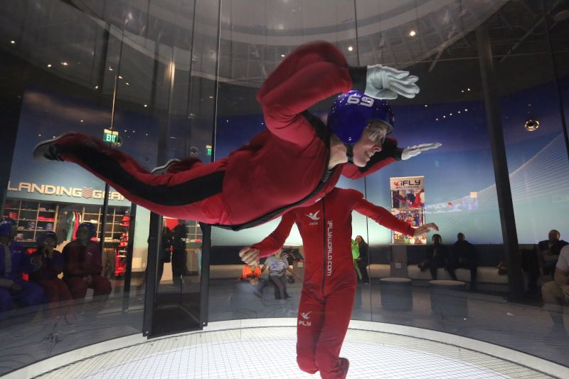 Anne Indoor Skydiving