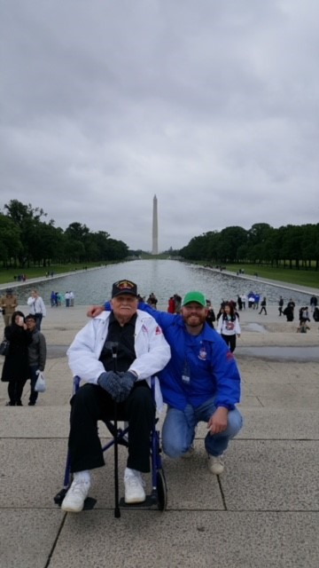 Dave Volunteering With Veterans in D.C.