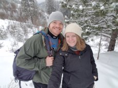 Adoptive Family Photo: We Love Snowshoeing, click to view bigger version
