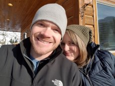 Adoptive Family Photo: Our Annual Winter Getaway in the Mountains, click to view bigger version
