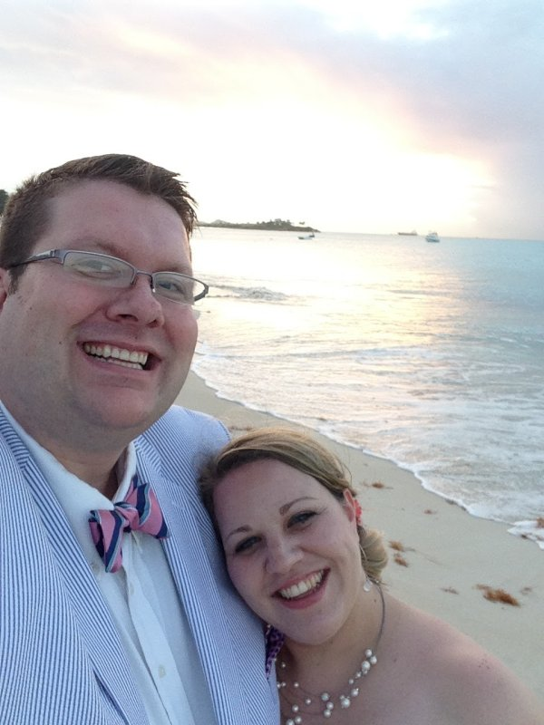Beautiful Evening for a Beach Wedding in Antigua
