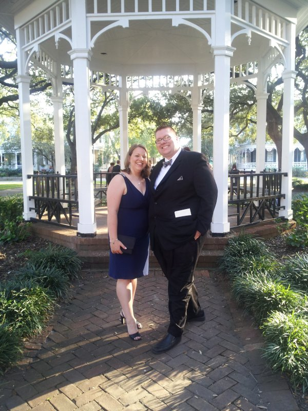 All Dressed Up for a Wedding in Savannah