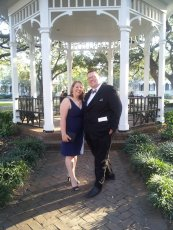 Adoptive Family Photo: All Dressed Up for a Wedding in Savannah, click to view bigger version