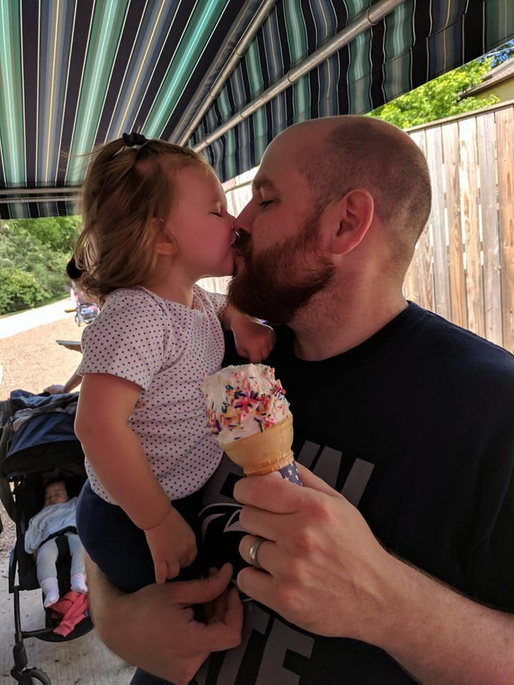 Ice Cream Kisses