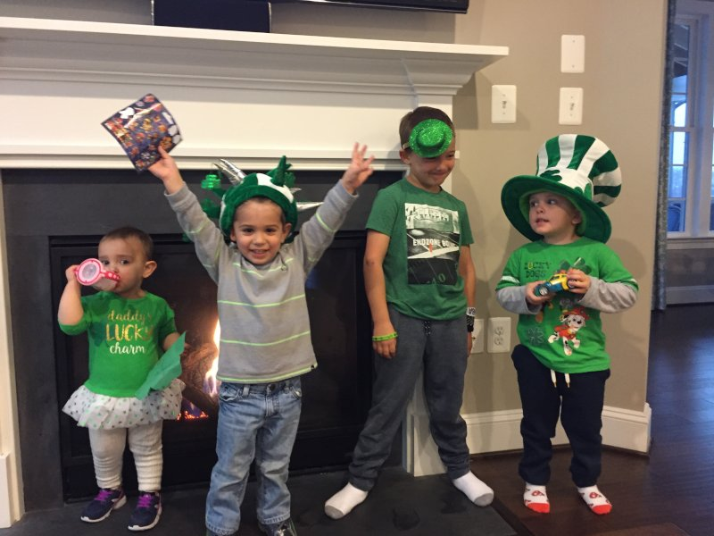 Celebrating St. Patrick's Day With Cousins