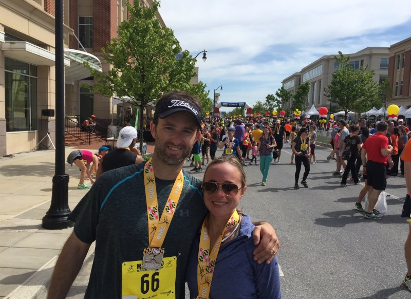 We Ran a Half-Marathon Together