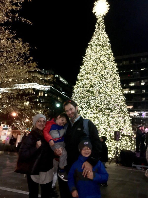 Christmas Tree Lighting at DC City Center