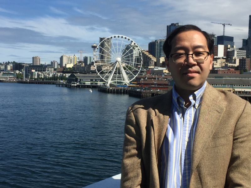 Takashi in Seattle