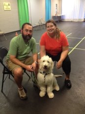 Adoptive Family Photo: Beau Graduating Puppy Class, click to view bigger version