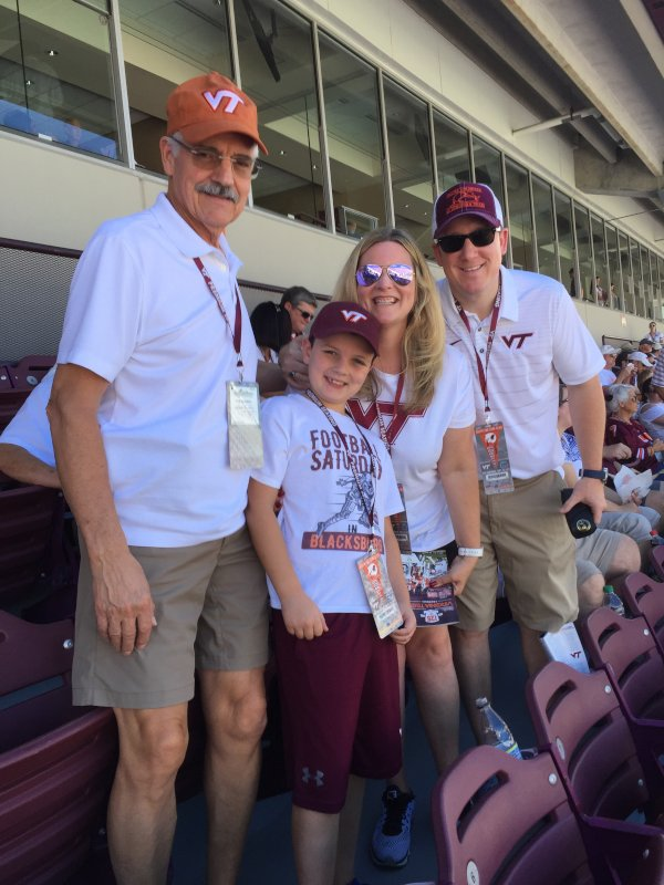 Game Day Was Such a Fun Time with Our Nephew and Dad