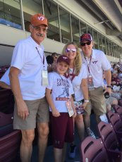 Adoptive Family Photo: Game Day Was Such a Fun Time with Our Nephew and Dad, click to view bigger version