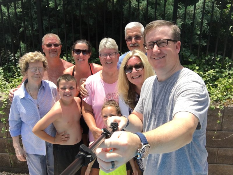 Pool & Cookout for Father's Day