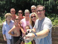 Adoptive Family Photo: Pool & Cookout for Father's Day, click to view bigger version