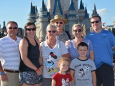 Adoptive Family Photo: Disney Truly is the Most Magical Place on Earth, click to view bigger version
