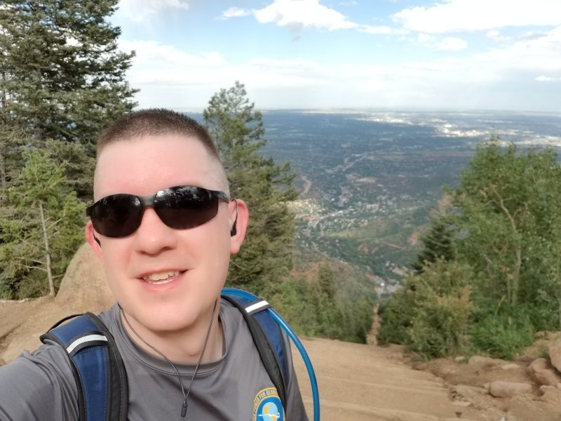 Made it Up the Incline!