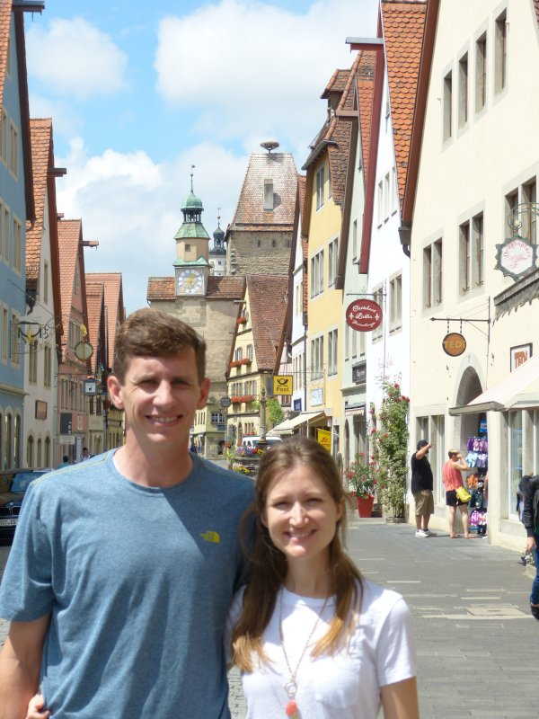 Checking Out the Shops in Rothenburg