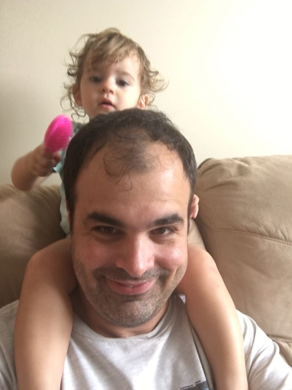 'Fixing' Daddy's Hair