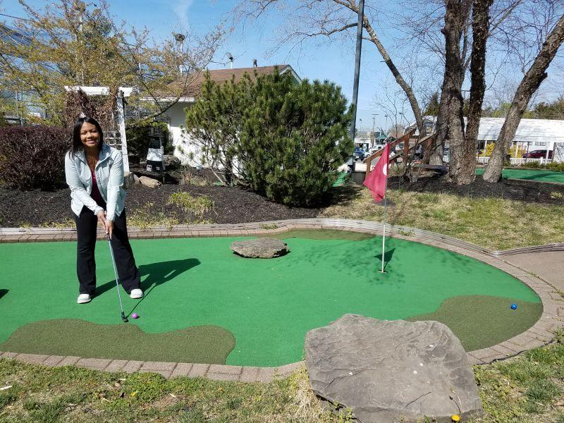 Mini Golf Date!