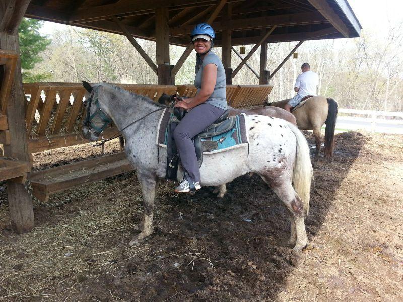 Tarsha Loves Horses