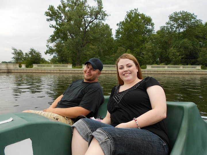 Paddle Boating in the Park