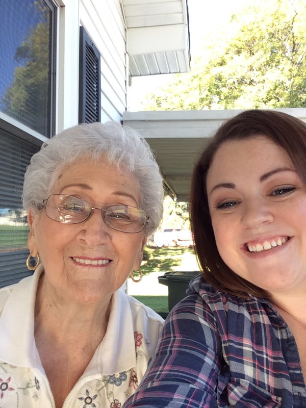 Carly and Her Grandma