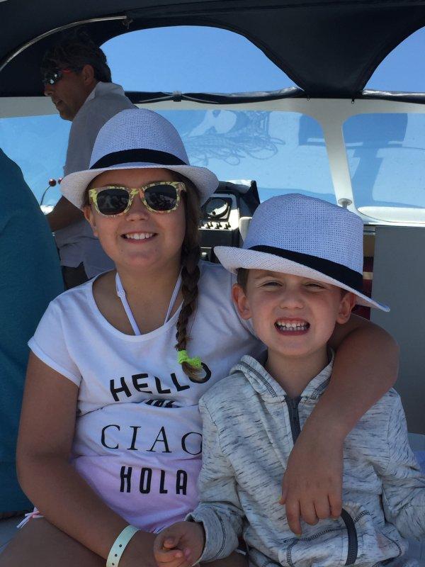 Boat Ride in Capri, Italy
