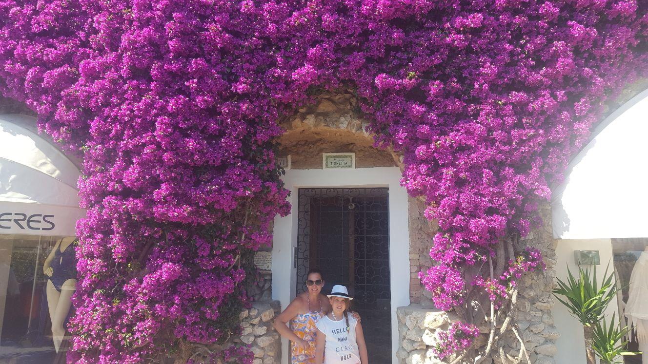 Jenni & Charlie in Positano, Italy