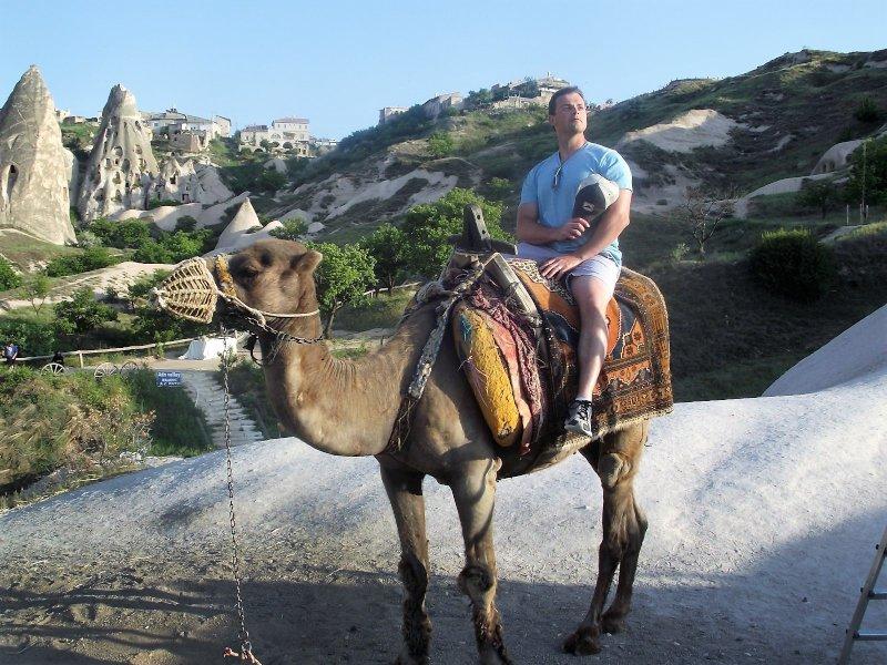 Camel Ride in Turkey