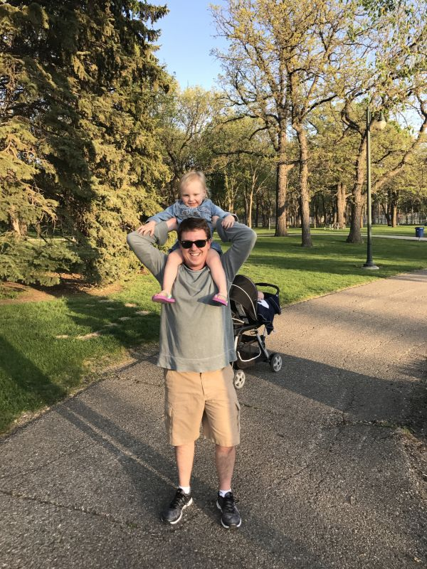 Shoulder Ride With Uncle Scott