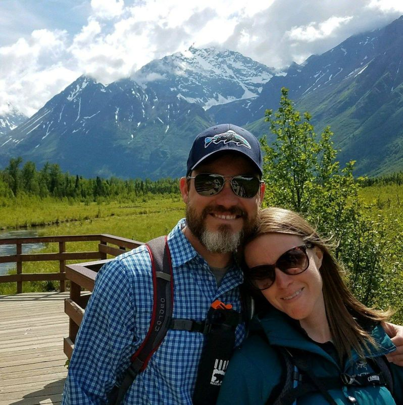 Hiking in Eagle River Alaska