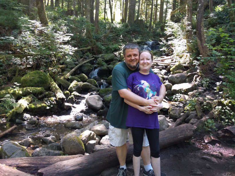 Hiking On One of Washington's Beautiful Trails