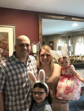 Adoptive Family Photo: Happy Easter!, click to view bigger version