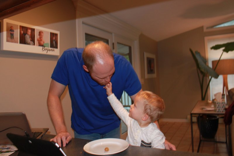 Feeding Uncle Michael