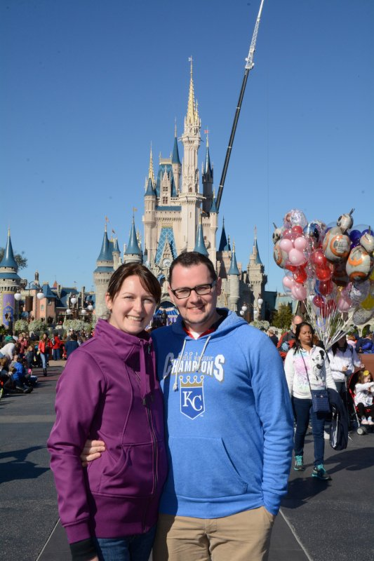 Chilly Day at Disney World