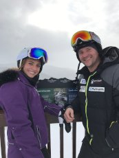 Adoptive Family Photo: Skiing in Vail