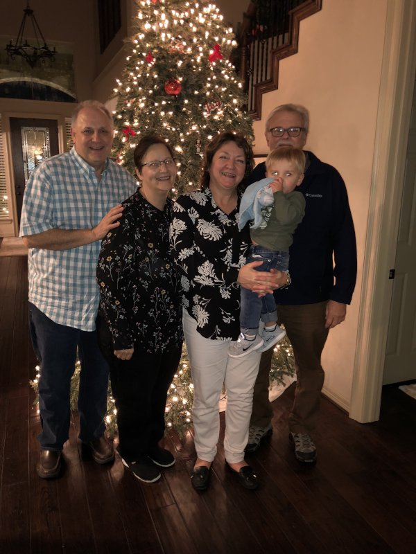 Christmas With Jackson's Grandparents