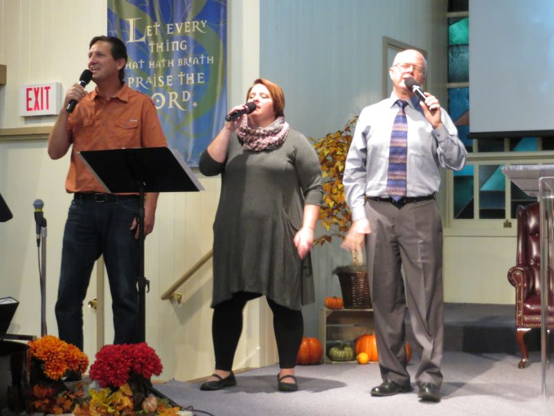 Singing at Our Church
