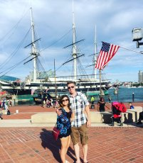 Adoptive Family Photo: Exploring the Baltimore Harbor, click to view bigger version