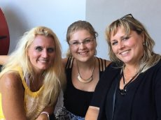 Adoptive Family Photo: Sonja With Her Sister & Niece