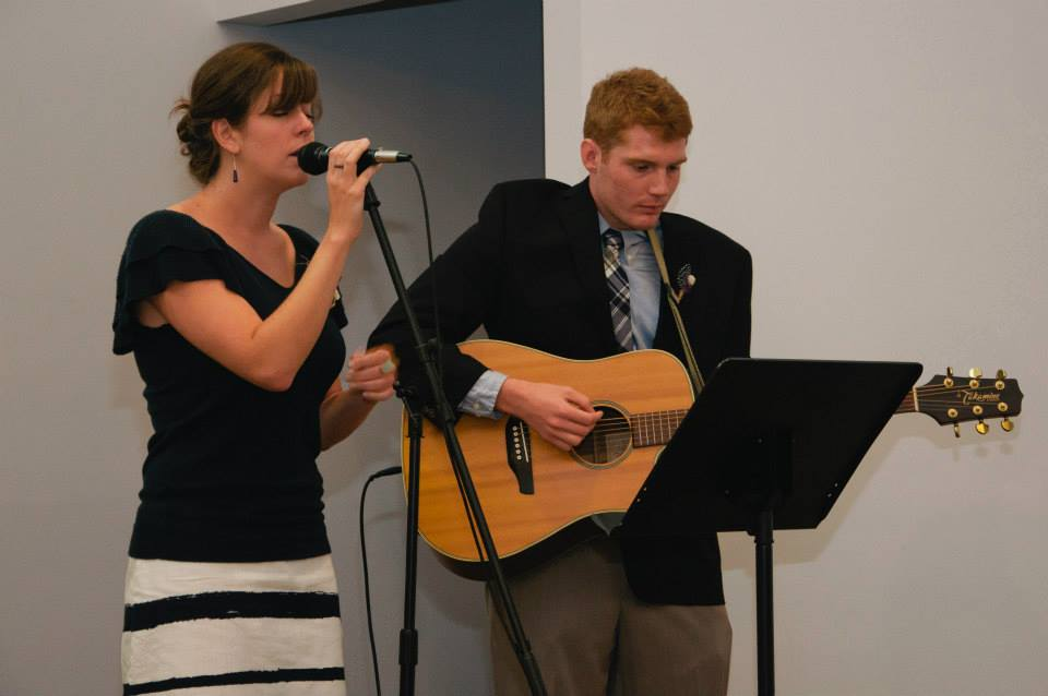 Singing Together at a Friend's Wedding