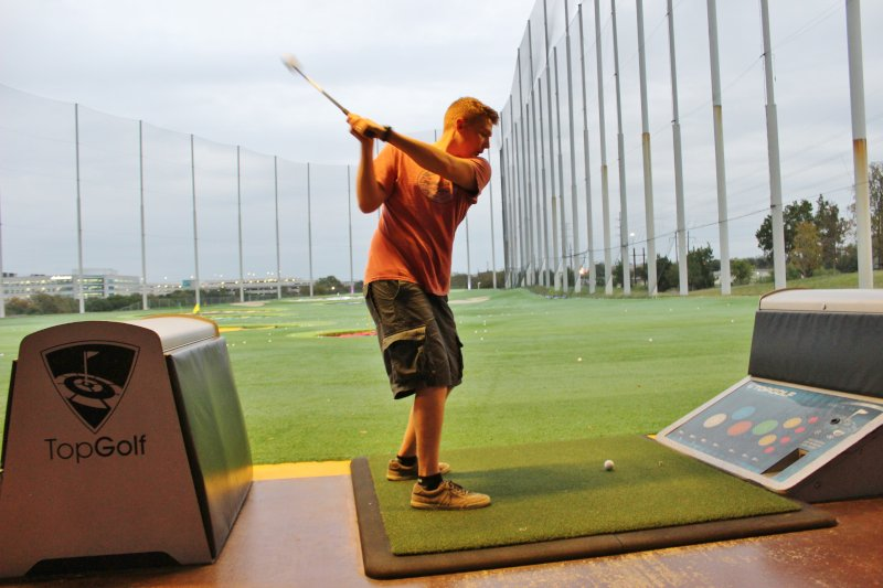 Taking a Swing at Top Golf