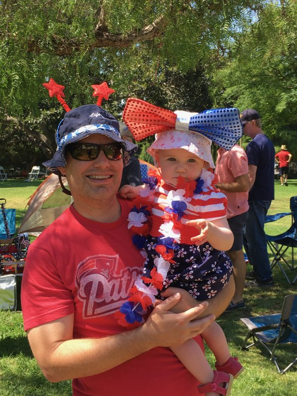 Fourth of July With Our Niece