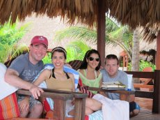 Adoptive Family Photo: With Friends in Belize