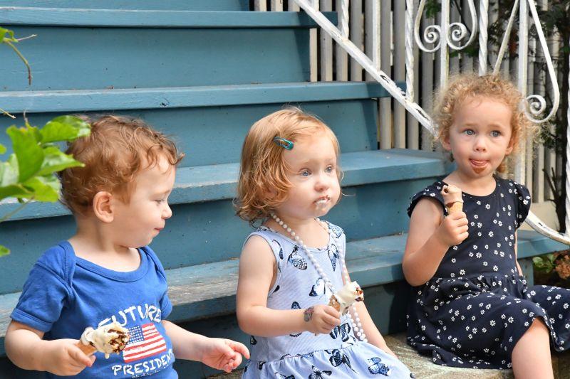 Ice Cream on the Porch