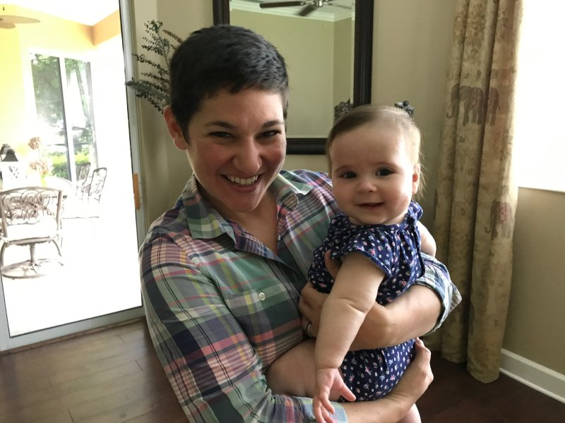 Jess and Our Niece, Ava