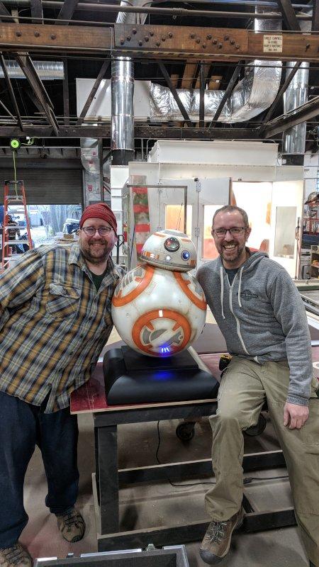 Patrick & His Team Made a BB8